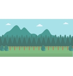 Background of mountain landscape vector image