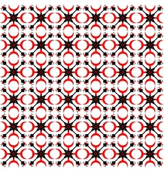 folk abstract pattern vector image