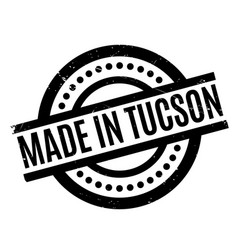Made in tucson rubber stamp vector