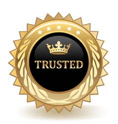 Trusted vector image vector image