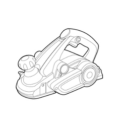 electric tool vector image