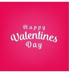 Happy valentines day background design vector