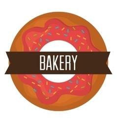 Bakery shop design vector