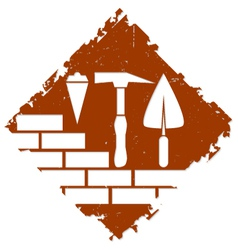 Construction symbol design vector