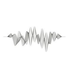 Digital sound wave audio digital equalizer vector