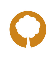 Environment tree natural symbol vector
