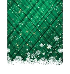 Green christmas background EPS 8 vector image vector image