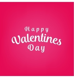 Happy Valentines Day Background Design vector image vector image