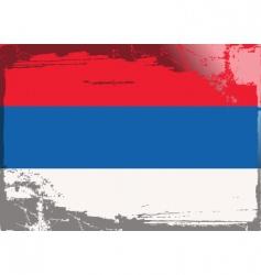 Serbia national flag vector