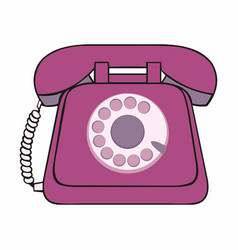 Phone for design and decoration vector