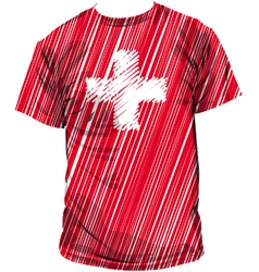 Switzerland tee vector