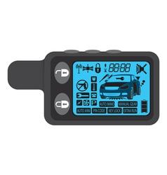 car alarm vector image