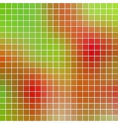 Abstract geometric colored square grid vector