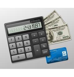 Calculator business vector