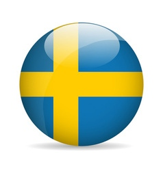 Flag of Sweden vector image vector image