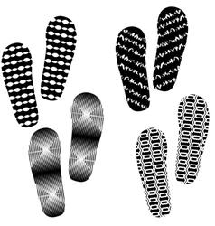 Imprints vector image vector image