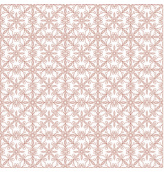 Rosybrown damask seamless pattern background vector