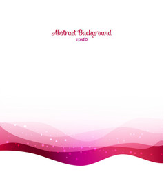 Abstract purple waves background vector