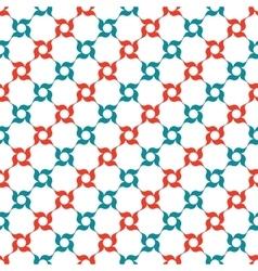 Arabesque trellis pattern vector