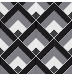 Bohemian black white pattern background vector