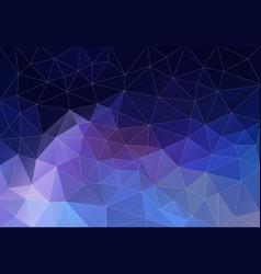 background of geometric shapes flat retro vector image