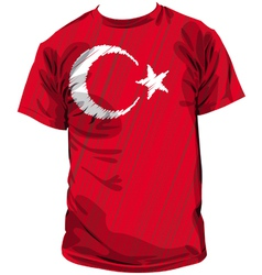Turkish tee vector