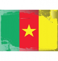 Cameroon national flag vector