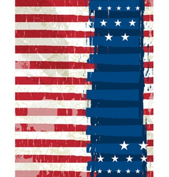 abstract usa background vector image
