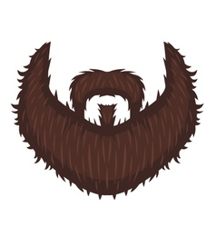 Captains beard vector