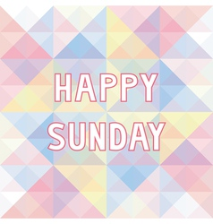 Happy sunday background3 vector