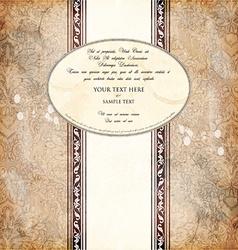 Invitation design vector