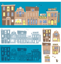 Street background vector