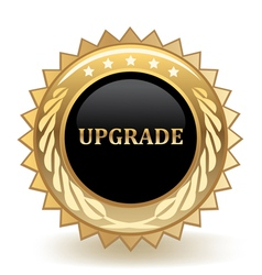 Upgrade vector image vector image
