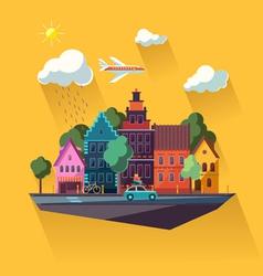 Urban cityscape vector