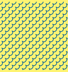Wave geometric seamless pattern 7908 vector