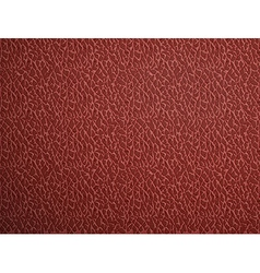 Red leather stock vector