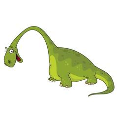 big dinosaur vector image vector image