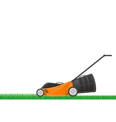 Lawn mower 02 vector