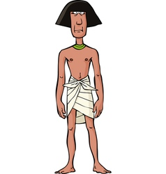 ancient egyptian slave vector image