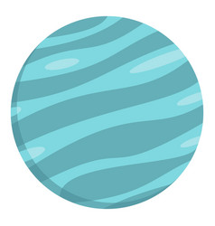 big planet icon isolated vector image vector image