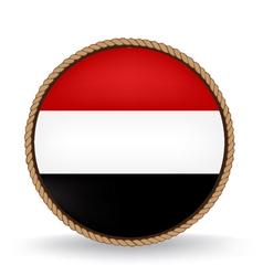 Yemen seal vector