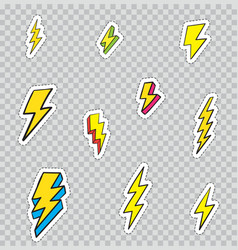 108 patches sep vector image vector image
