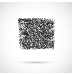 Square black oil pastel banner vector