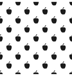 Bell pepper pattern simple style vector image vector image