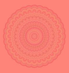 Bohemian mandala background - round symmetry vector