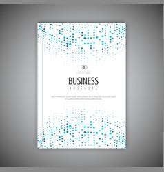business brochure design vector image vector image