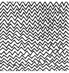 irregular zig zag pattern vector image vector image