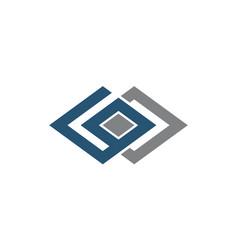 Modern solution letter g o vector