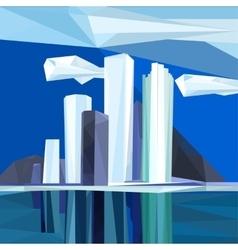 Polygonal city vector