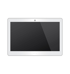 White Tablet vector image